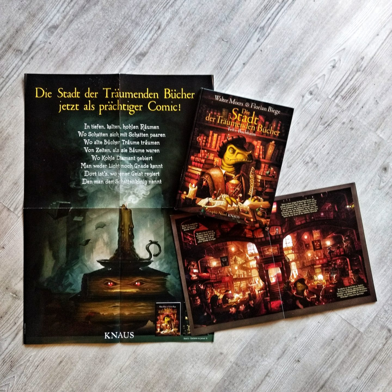 4.12 Die Stadt der Träumenden Bücher als Graphic Novel
